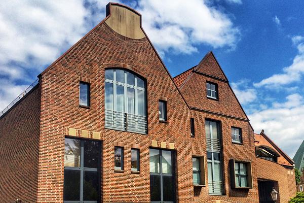 Geschäftshäuser Gebäudekomplex Badenhop in Verden Fassaden,  Ausführung, detailplanung
