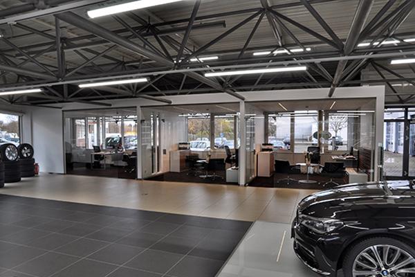 Autohaus bmw bobrink bremen mueller schewerda architekten - Architekten bremen ...